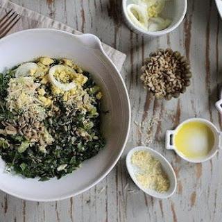 Tuna Salad And Cabbage.