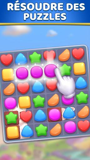 Candy Land: u00abmatch 3u00bb - jeux match 3 gratuit  captures d'u00e9cran 1