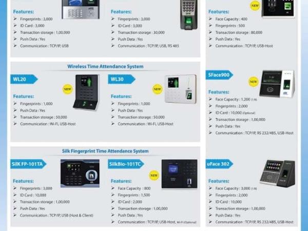 Sharp Security Solutions (eSSL,Biometric, Face,Fingerprint
