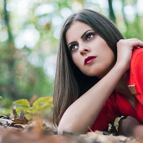 An a by Bogdan Negoita - People Portraits of Women ( glamour, fashion, girl, woman, portrait, campionato di fotografia, women, lady, red,  )