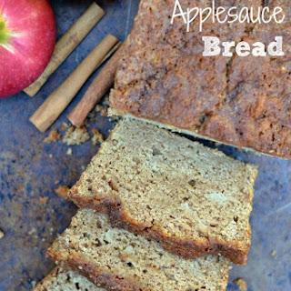 Healthy Applesauce Bread