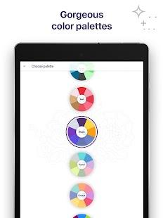 Coloring Book for Me & Mandala Screenshot 12