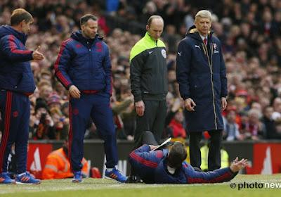 """Van Gaal revient sur sa simulation de chute: """"Je ne suis pas un clown"""""""