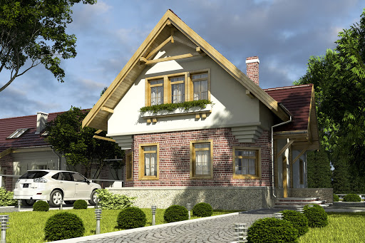 projekt Bolek bez garażu B
