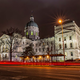 Indiana Statehouse by Jay Stout - Buildings & Architecture Public & Historical