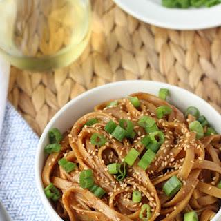 Sesame Almond Butter Noodles
