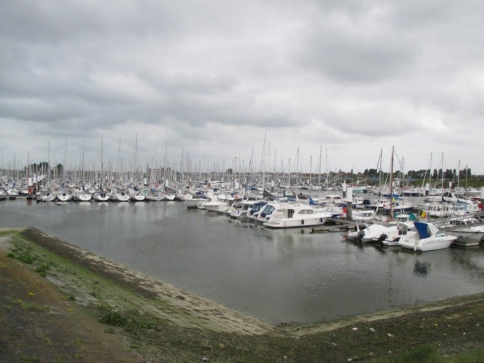 jachthaven Portus Novus in Nieuwpoort
