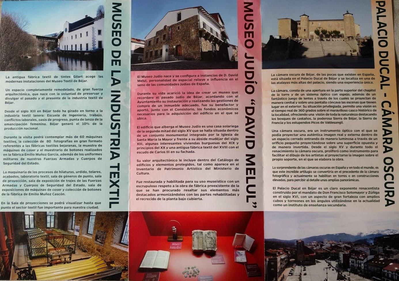 Tríptico Museos