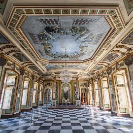 Palace of Queluz, Lisbon. by Simon Page - Buildings & Architecture Public & Historical
