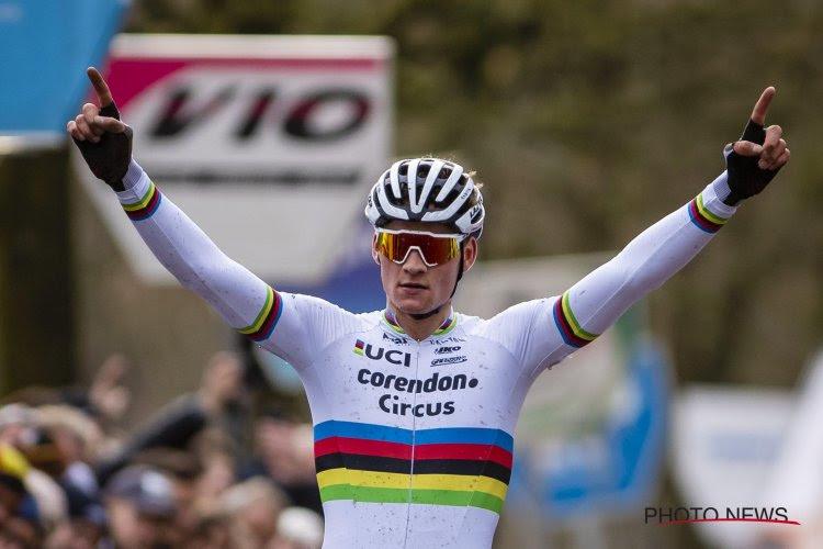 Mathieu van der Poel alimente encore sa moisson de succès