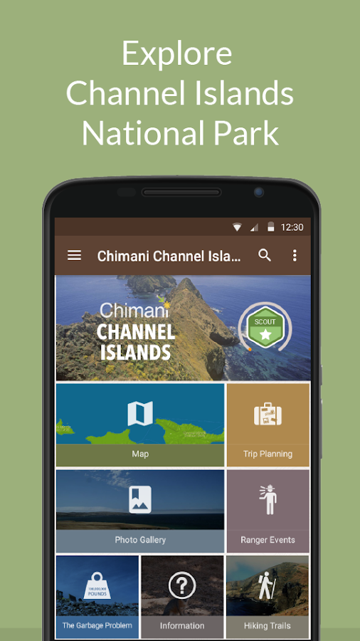Channel Islands NP by Chimani- screenshot