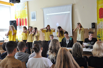 Photo: The Day of Languages (Tuesday, 27 October 2015, Art Room).