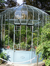 Photo: A small greenhouse on the grounds.