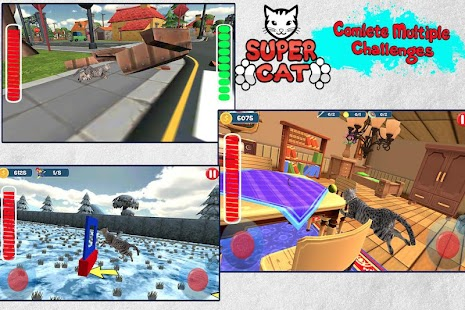 Super Cat 3D- screenshot thumbnail