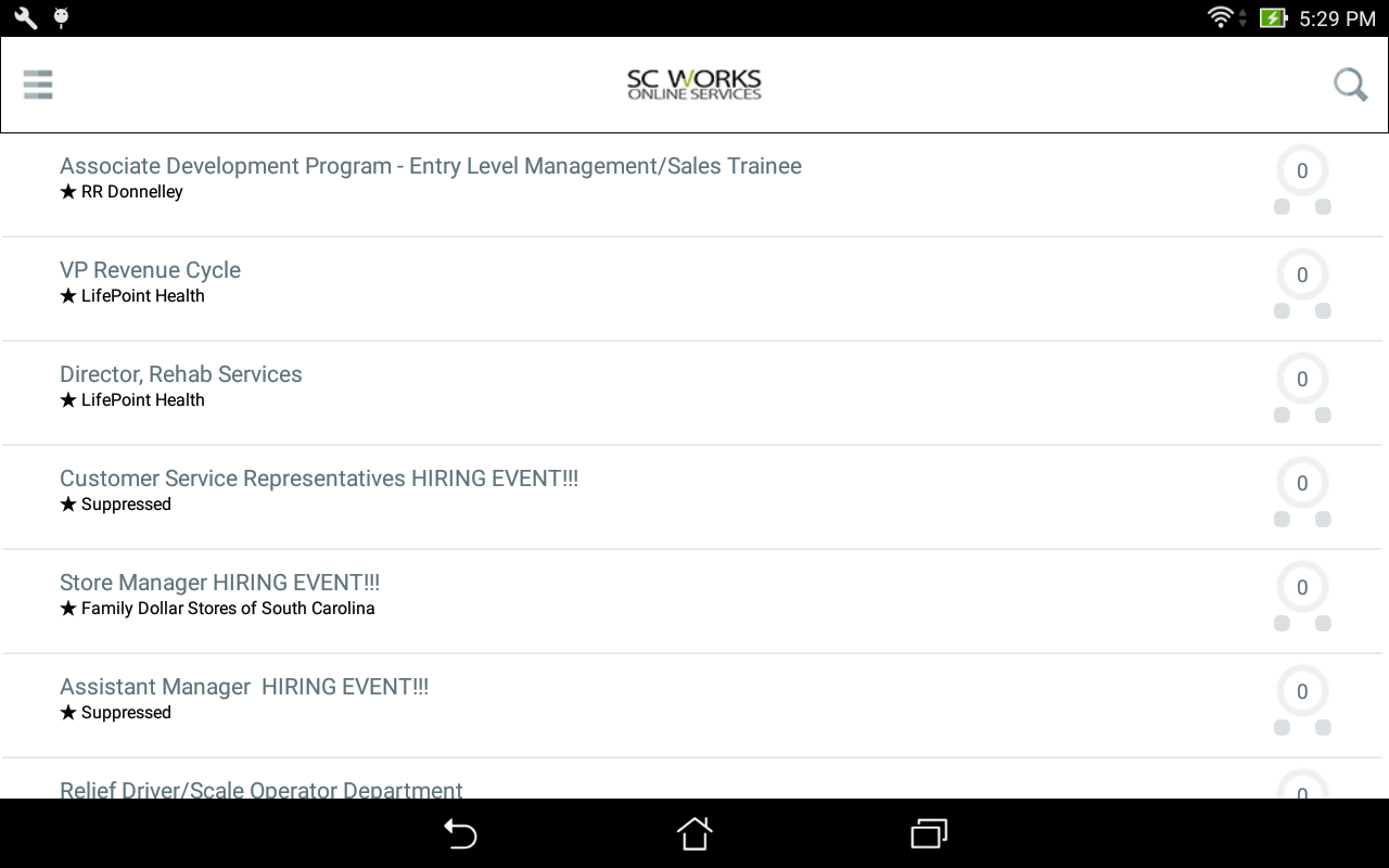 Sc works android apps on google play sc works screenshot falaconquin