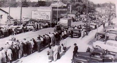 Photo: Denton 1957 at 50yrs