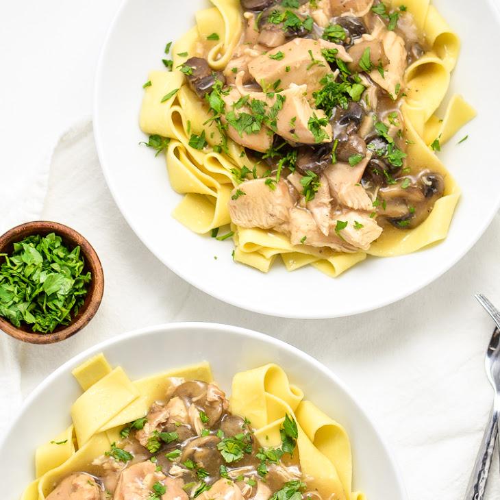 slow cooker chicken marsala stew door cooking and beer toegevoegd door ...