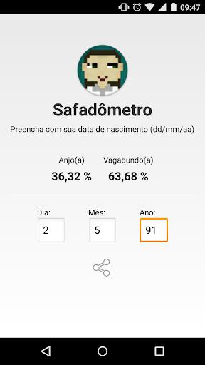 Safadômetro App