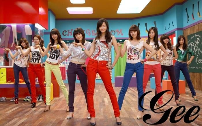 GIRLS' GENERATION - GEE Tea