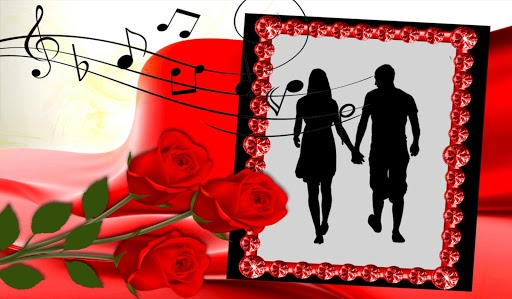 浪漫 相框