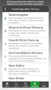 Blitzer POIbase Radarwarner – Miniaturansicht des Screenshots