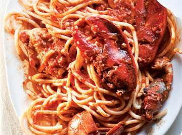 Lobster Fra Diavolo (Lobster in Spicy Tomato Sauce)