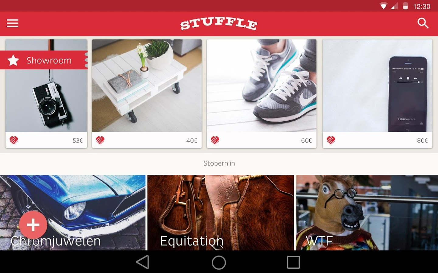 STUFFLE – Classifieds Search- screenshot