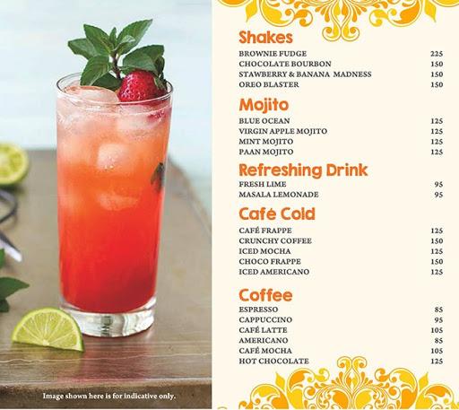 Masala Asia menu 8