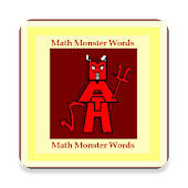 Math Monster Words