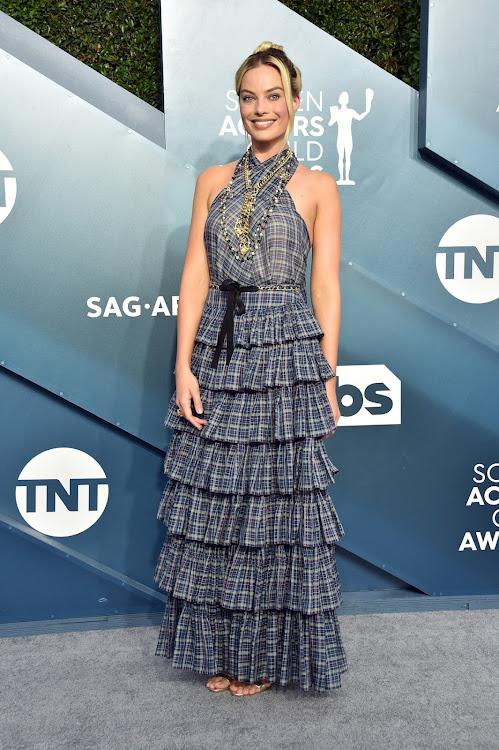 Margot Robbie at the 2020 SAG Awards.