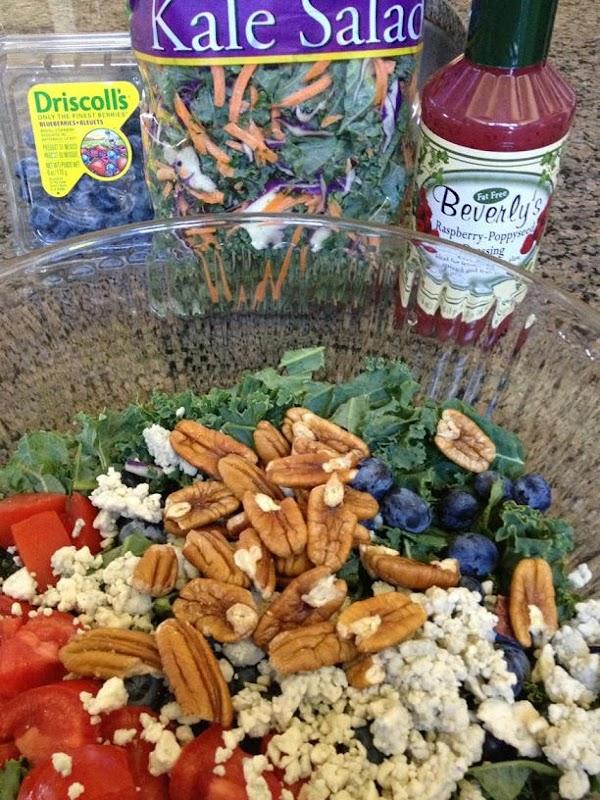 Kale Blueberry Salad Recipe