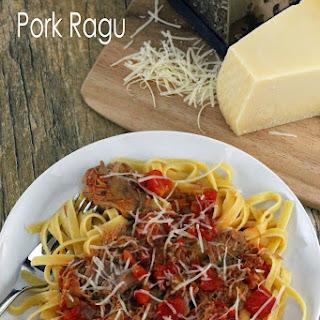 Slow Cooker Pork Ragu