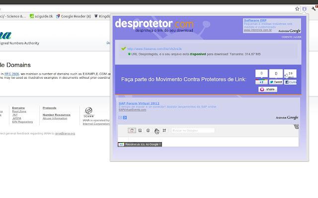 Desprotetor.com - Desprotetor de links
