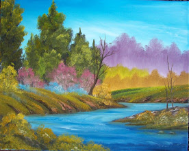 """Photo: 2605 A Trace of Spring. Oil on canvas. 16"""" x 20"""" $199.00"""
