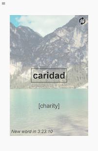 A Spanish Word A Day - náhled