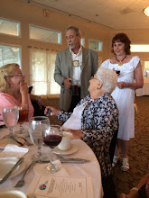 Photo: Honored Guests Debbie and Dorrie Larson, with Don Kanfer and guest