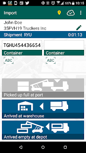 Last Mile Container Tracker- screenshot thumbnail
