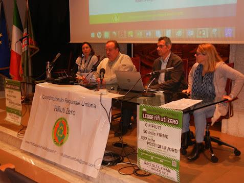 CRURZ: C.S. - Stato attuale e prospettive della gestione dei rifiuti in Umbria - 09/01/2016