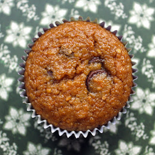 Spiced Butternut Muffins with Chocolate Chips