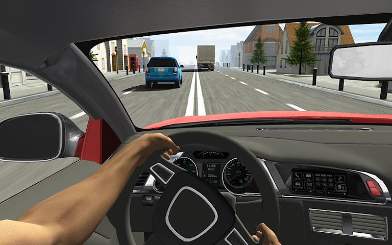 android Racing in Car Screenshot 2