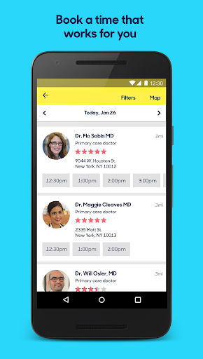 Zocdoc: Find Doctors & Book Appointments Screenshot