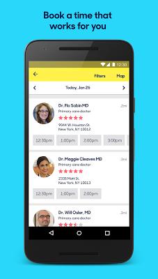 Zocdoc: Find & book a doctor - screenshot