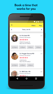 App Zocdoc Find A Doctor & Book On Demand Appointments APK for Windows Phone