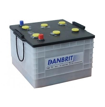 Startbatteri 12V 165Ah Danbrit