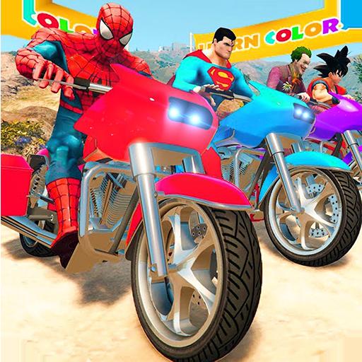 Super Heroes Downhill Racing
