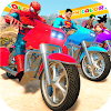 Super Heroes Downhill Racing