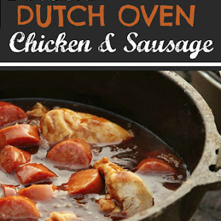 Devin's Dutch Oven Chicken & Sausage