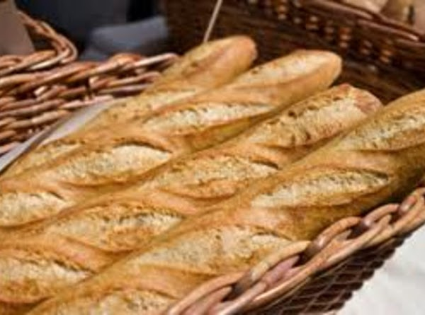 Cut baguette on a slant into 3 inch rounds; scoop out about 2 inched...