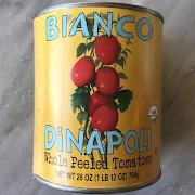 Bianco DiNapoli Whole Peeled Tomatoes