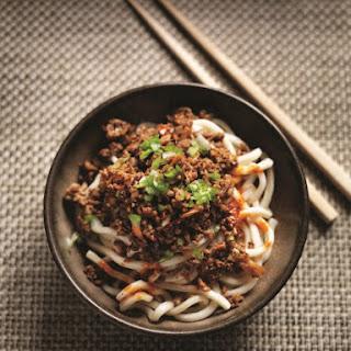 MiMi Aye's Spicy Sichuan Noodles.